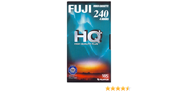 Fuji Vhs E 240 Hq Plus Vhs Videokassette Elektronik