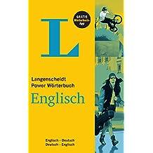 Langenscheidt Power Wörterbuch Englisch - Buch und App: Englisch-Deutsch/Deutsch-Englisch (Langenscheidt Power Wörterbücher)