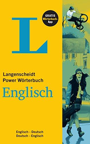 Preisvergleich Produktbild Langenscheidt Power Wörterbuch Englisch - Buch und App: Englisch-Deutsch/Deutsch-Englisch (Langenscheidt Power Wörterbücher)