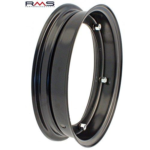 """Preisvergleich Produktbild Felge geteilt schwarz RMS 2.10 - 10"""" für Vespa 50-125 / PV / ET3 / PK / S / XL / XL2 /125 GT-TS / 150 GL etc"""