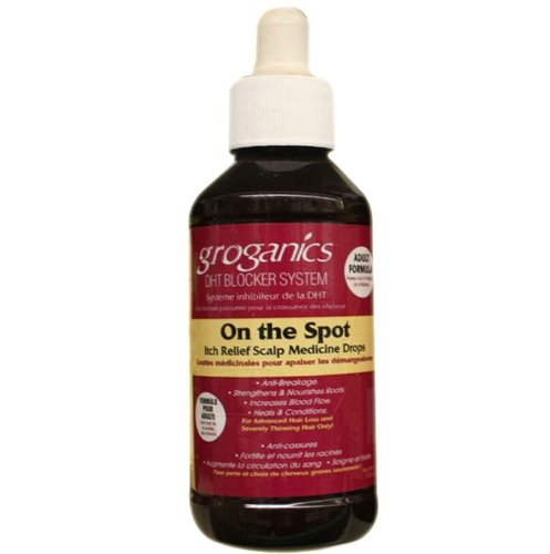 Kopfhaut Klimaanlage Behandlung (Groganics On The Spot Itch Relief Scalp Medicine Drops)