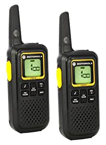 Motorola XTB446 2-Way PMR446 Walkie Talkie Radio - Black (Pack of 2)