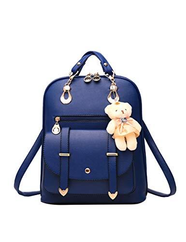 SJBRHN Rucksack Bär Rucksäcke Casual Rucksack In Frauen Daypacks Shopping Rucksäcke Satchel, Königsblau, China -