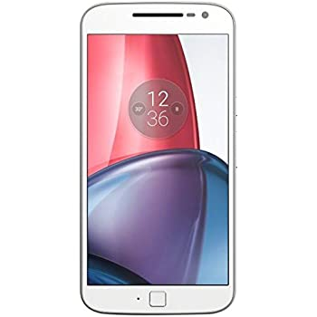 Motorola Moto G4 Plus [Version Allemagne] - Blanc