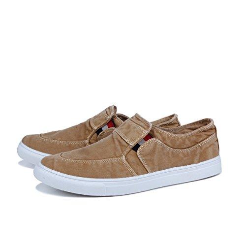 Chaussures De Sport Pour Hommes Chaussures De Toile Brown