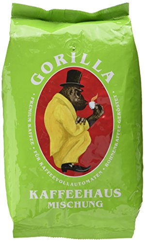 Joerges Gorilla Kaffeehaus-Mischung, 1er Pack (1 x 1 kg)