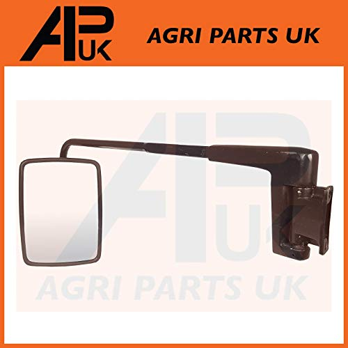 NEW LH Cab Mirror Head & Arm Compatible with Massey Ferguson New Holland  John Deere Tractor