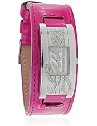Guess Damen-Armbanduhr Analog Quarz Plastik W80055L6