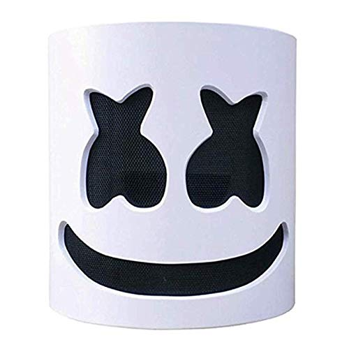 mimisasa LED DJ Maske Leuchten Halloween Kostüm Maske Musik Festival Bar Geheimnis Sänger Cosplay Maske (Ohne geführt)