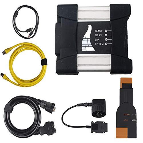 flower205 OBD2 Diagnosegerät - V2018.12 ICOM Next für BMW ICOM A2 nach Einem professionellen ICOM A2-Diagnoseprogrammierer A + B + C + mit Wärmeableitung Plus ICOM Icom-20 - Kabel