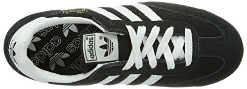 adidas Originals Dragon, Baskets mode homme Noir (Black/White/Metallic Gold)