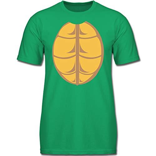 Kinder - Kostüm Schildkröte - 140 (9-11 Jahre) - Grün - F130K - Jungen Kinder T-Shirt ()