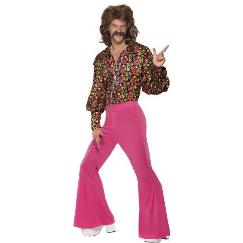 üm Disco Hippie 2-Teiler 60er Jahre Größe L (Lustige 60er-jahre-kostüme)
