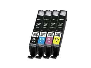 Canon Cli-551 Ink Cartridge - Multicoloured