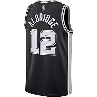 Aldridge Men's Black Spurs Swingman Jersey Shirt 17/18 Size XL