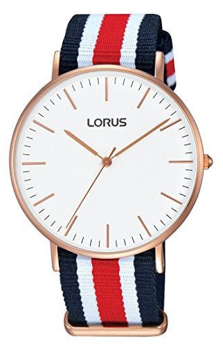 Lorus Watches Ladies 'Watch Analogue Quartz Nylon RH884BX9