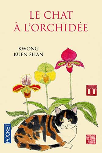 Le Chat à l'orchidée par Kwong KUEN SHAN