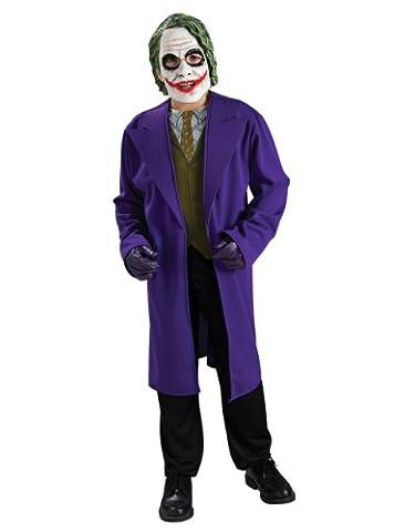 Costume Joker Batman Dark Knight Tween Costume Style 1, Tween, 12 ans, Hauteur 120 cm (10