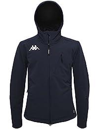 E Kappa Amazon Uomo Cappotti Blu it Abbigliamento Giacche qIqxHUAw