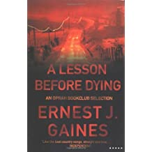 A Lesson Before Dying (Five Star) by Ernest J. Gaines (2001-02-23)