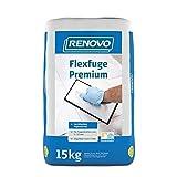 Flexfuge Premium 15 Kg silbergrau Renovo Fugenmörtel