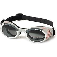 Doggles ILS Dog Goggles Sunglasses Skull/Smoke Medium
