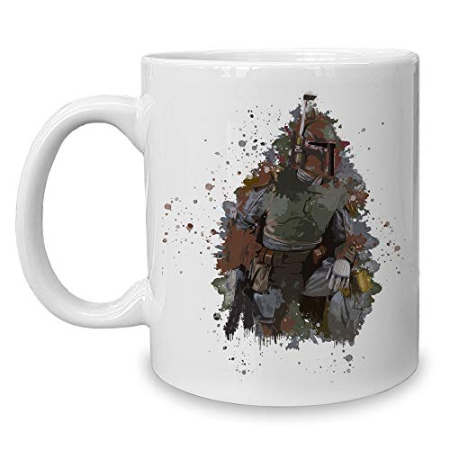 Shirtdepartment - Kaffeebecher - Tasse - Gaming & Film Motive Bounty Hunter