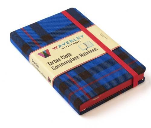 Elliot: Waverley Genuine Tartan Cloth Commonplace Notebook (9cm x 14cm) (Waverley Genuine Scottish Tartan Notebook, Band ()