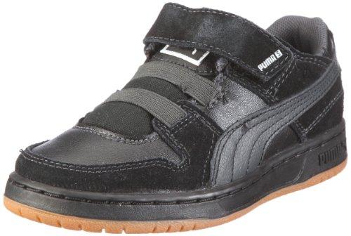Puma Grifter S V Kids 352594 Unisex - Kinder Sneaker Schwarz/black-dark shadow-gray violet
