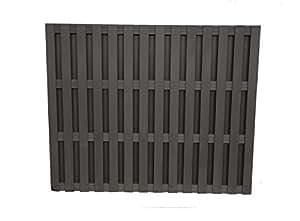 Contemporain Panneau de clôture Composite Graphite 1500x 1828.8