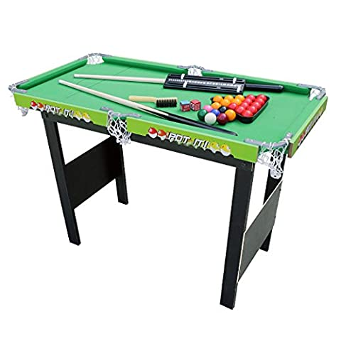 Outdoor Indoor 3ft Snooker/Pool Table Sport Games Table, 36