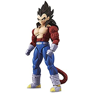 Bandai Hobby- Vegeta Super Saiyan 4 Model Kit 14 cm Dragon Ball GT Figure-Rise Standard 84087P, Multicolor (BDHDB144984) 11