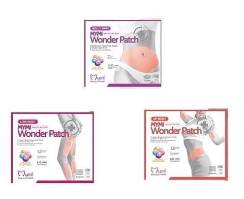 GKA 47 x MYMI Wonder Patch Abnehmpflaster Abnehmen Diät Pflaster Pad Schlank Bauch, Beine, Taille, Hüfte, Arme, Kinn (Entfernung Von Cellulite)