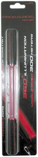 FIBRE FLARE SHORTY RED   REFLECTOR DE CICLISMO  COLOR ROJO / NEGRO