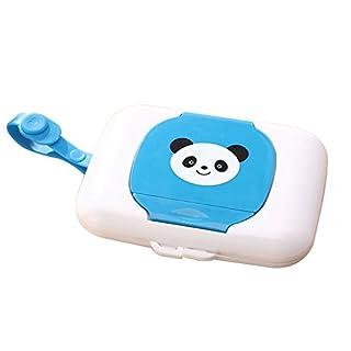 Cikuso Boite de Rangement pour Enfants Wet Wipes Box Boite de Voyage Wipe Changing Dispenser Baby
