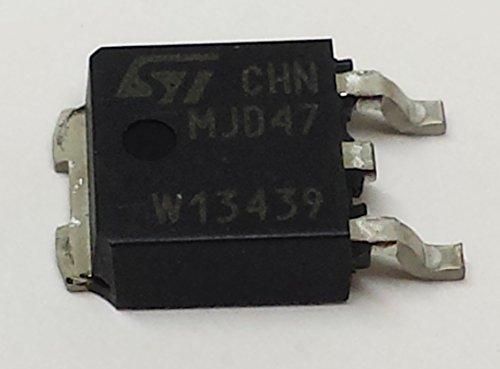 10 Stück MJD47 HIGH VOLTAGE FAST-SWITCHING NPN POWER TRANSISTOR | 1A | Vceo 250V | Vcbo 350V | Ptot 15W | DPAK (TO-252) Gehäuse -