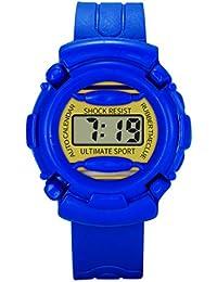 BBestseller Niños Digital Relojes para niños -Impermeable de los Deportes Reloj con Alarma Cronógrafo Cronómetro