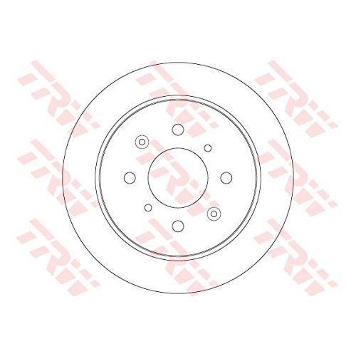 Preisvergleich Produktbild TRW DF6378 Bremsscheibe Scheibenbremsen, Bremsscheiben (x2)