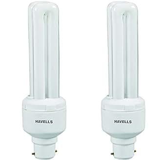 Havells DU B-22 15-Watt CFL Bulb (Cool Day Light and Pack of 2)