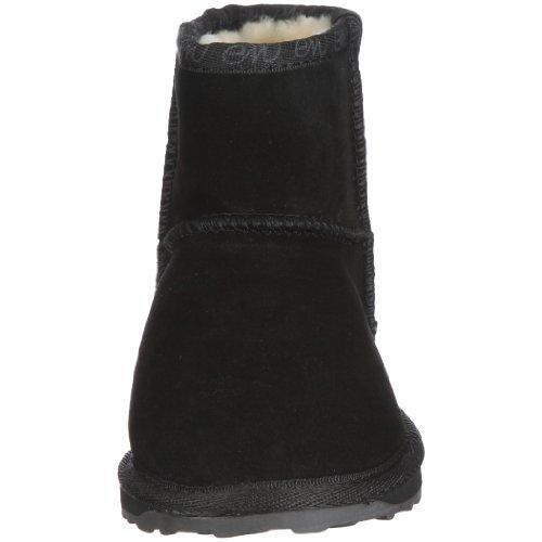 EMU Australia Wallaby Mini, Boots mixte enfant Noir (Black)