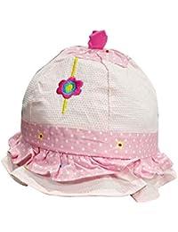 Ekan Baby Girl Cute Summer Sun Protection Cap Beach Cotton Soft Outdoor Hat ef5ce31eaa
