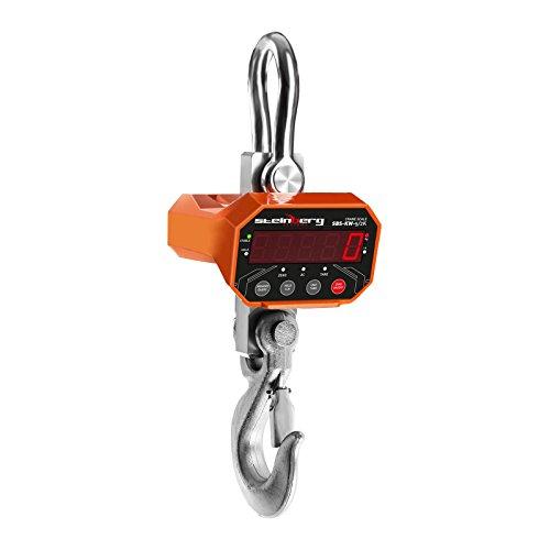 Preisvergleich Produktbild Steinberg Systems - Kranwaage Hängewaage (5 t / 2 kg, 20 m Fernbedienungsreichweite, 10 sek Wartezeit, Akku 6V/4Ah, LED) Orange