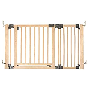 Safetots Wooden Multi Panel Room Divider Up to 136.5CM   2
