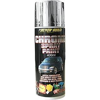 Silverhook Chrome Effect Acrylic Spray Paint 400ml