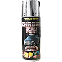 Silverhook Chrome Effect Acrylic Spray Paint 400ml - ukpricecomparsion.eu