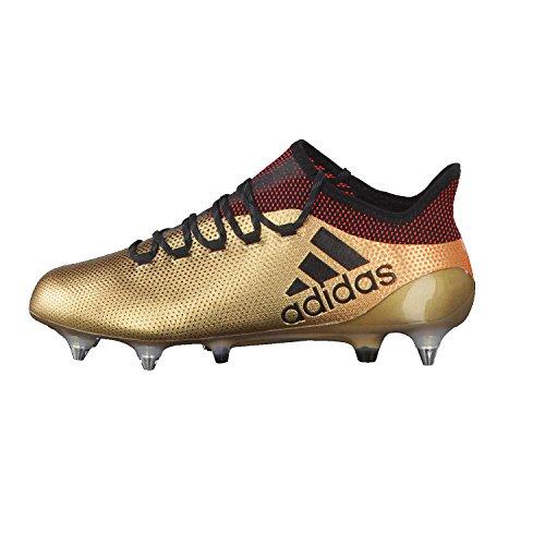 adidas Herren X 17.1 SG Fußballschuhe TAGOME/CBLACK/SOLRED