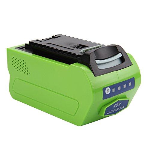 Exmate GreenWorks G-MAX 40V Li-ion Batterie 29462 29472 Batterie...