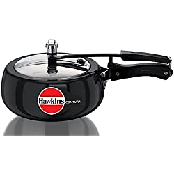 Hawkins Contura 3.5 Liters Hard Anodized Pressure Cooker by Mercantile International