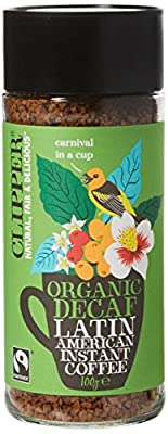 Clipper Organic Instant Coffee 100 g (Pack of 6)