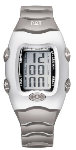 Caterpillar - LIVINGSTON CA0669 - Montre Homme - Quartz - Analogique - Alarme - Bracelet Plastique Gris
